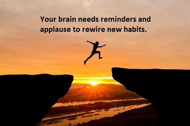 Goals don't work, create habits instead