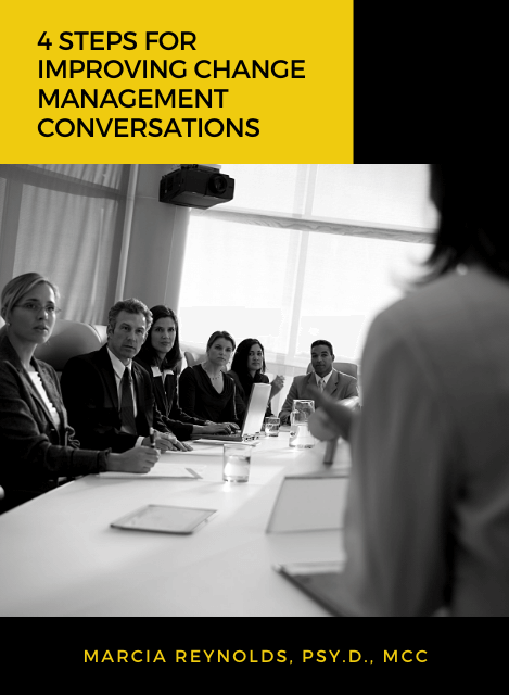 4 Steps for Improving Change Management Conversations - Article Cover