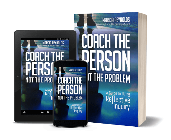 Ipad, iPhone and book version of Coach the Person Not the Problem