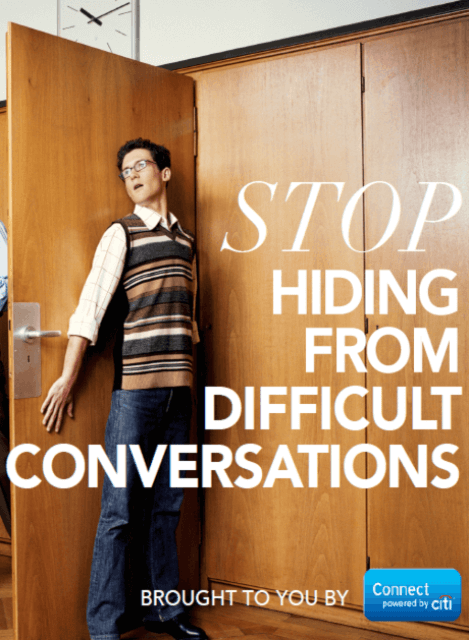 Connect Stop Hiding from Difficult Conversations cover