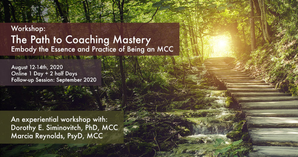 Workshop Path To Mastery August 12-14
